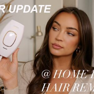 1 YEAR AT HOME LASER HAIR REMOVAL UPDATE! REGROWTH? IS IT FOR EVERYONE?