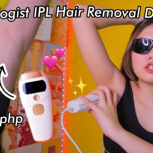 MURANG DIY IPL HAIR REMOVAL DEVICE from SKINOLOGIST.PH (My HONEST 1 MONTH Experience!) PH