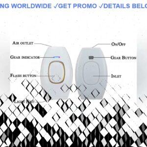 ☑️ REVIEW 500000 Pulses IPL Laser Epilator Portable Depilator Machine Full Body Hair Removal Device