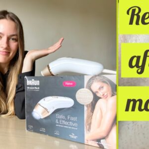 Braun silk expert pro 5 ipl hair removal full review| 9 months results