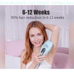⚡️ PROMO DEESS GP590 Laser Epilator Hair Removal Permanent 0.9s Painless Cool Ipl Laser Hair Remova