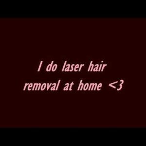 #Shorts I do full body laser hair removal at home