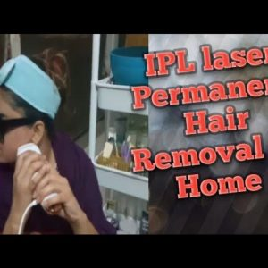 IPL laser at home permanent hair removal update after 3 months use  💁