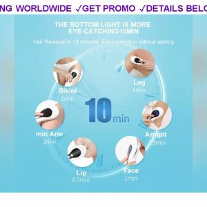 [Promo] $57.71 999999 Flashes IPL Laser Epilator Professional Permanent Painless Hair Removal Devic