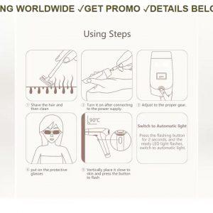 ❤️ DEAL Lescolton T009i depilator a laser 400000 pulsed IPL Laser Hair Removal Device Permanent Hai
