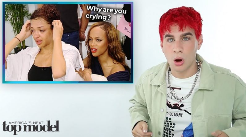Hairdresser Reacts To America's Next Top Model Makeovers S.19