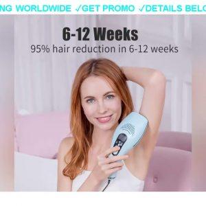 [DIscount] $299.99 DEESS GP590  Permanent Hair Removal,ICE COOL IPL laser epilator, Up graded Unlim