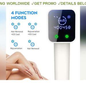 [Sale] $109.11 Newest Lescolton 4in1 IPL Hair Removal T012C Cool Original 100% Epilator Permanent B