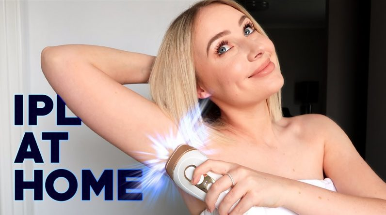 IPL HAIR REMOVAL AT HOME: demo + answering your questions!